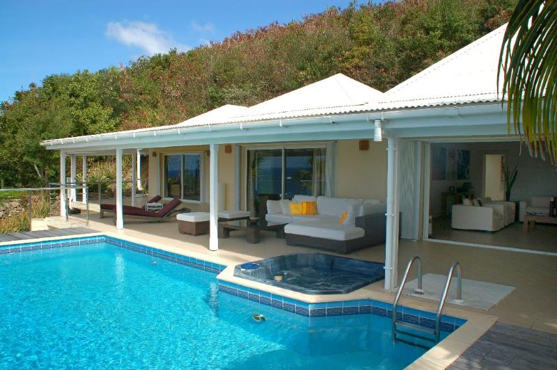Chambord at Petit Cul de Sac, St. Barth - Ocean Views, Privacy, Pool and Jacuzzi - Image 1 - Petit Cul de Sac - rentals