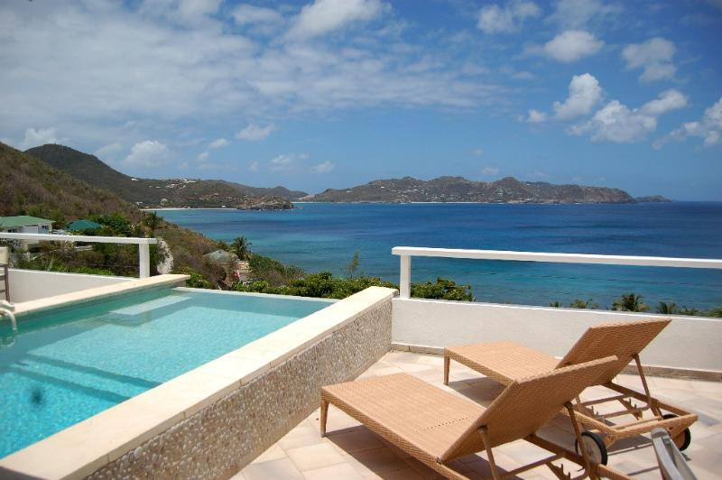 Capri at Pointe Milou, St. Barth - Ocean View, Amazing Sunset Views, Air-Conditioned Living Room - Image 1 - Pointe Milou - rentals