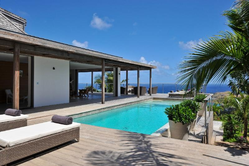 Casa Tigre at Vitet, St. Barth - Ocean and Lagoon View, Contemporary - Image 1 - Vitet - rentals