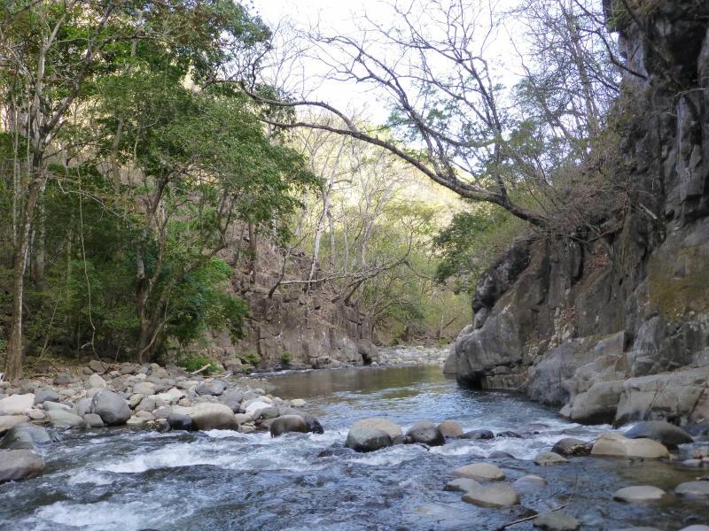 Awe-inspiring cliffs, deep pools, shallow rapids serving as a natural spa - Near Monteverde Rancho el Rio- Lush Paradise/Farm - Monteverde Cloud Forest Reserve - rentals