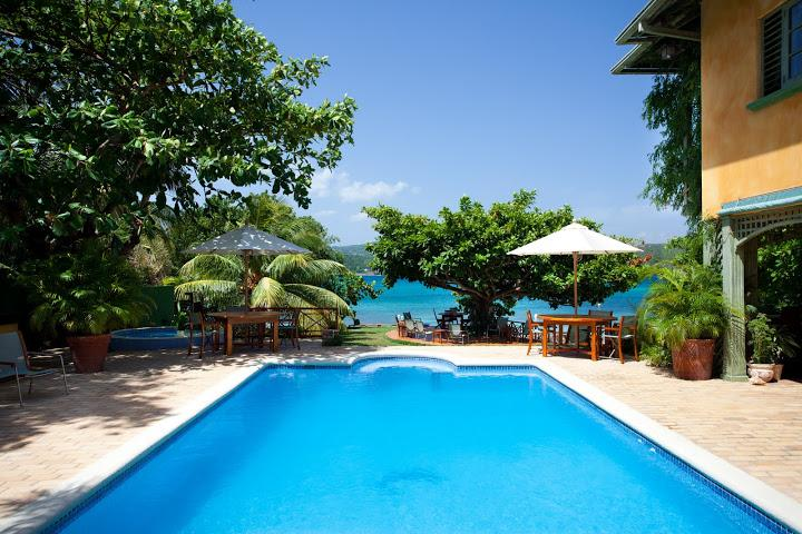 PARADISE PKW - 102021 - PICTURESQUE | 4 BED | BEACHFRONT VILLA | WITH POOL - DISCOVERY BAY - Image 1 - Discovery Bay - rentals