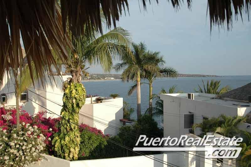 Ocean view from rooftop palapa terrace - Casa Caitlin 2BR Puerto Escondido Vacation Rental - Puerto Escondido - rentals