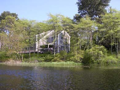Scenic Pondfront Home with Central A/C (1009) - Image 1 - South Orleans - rentals