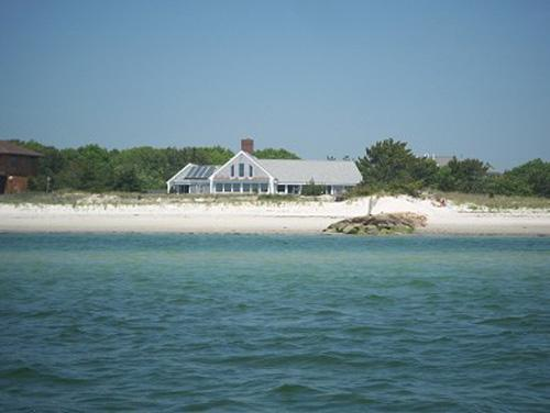 Private Beachfront Home on Great Island - Image 1 - Yarmouth - rentals