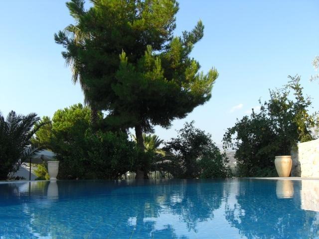 Pool @ Villa Orestes - Villa Orestes in Exostis the balcony of Nafplion - Nauplion - rentals