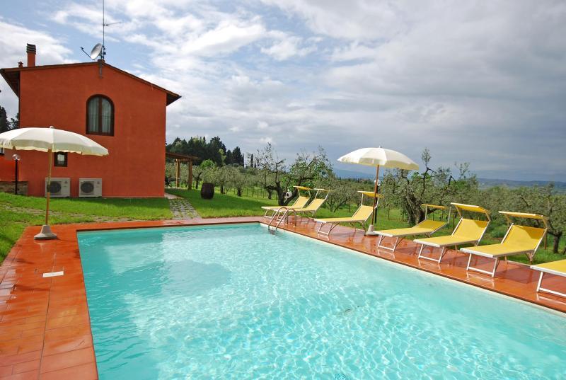 Villa Montegufoni (Barn 1) - Image 1 - Montespertoli - rentals