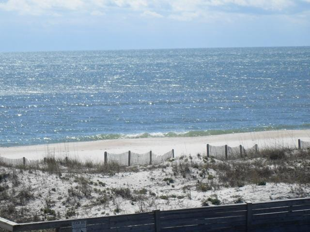beach view from deck - Beach View Townhouse - Saint George Island - rentals