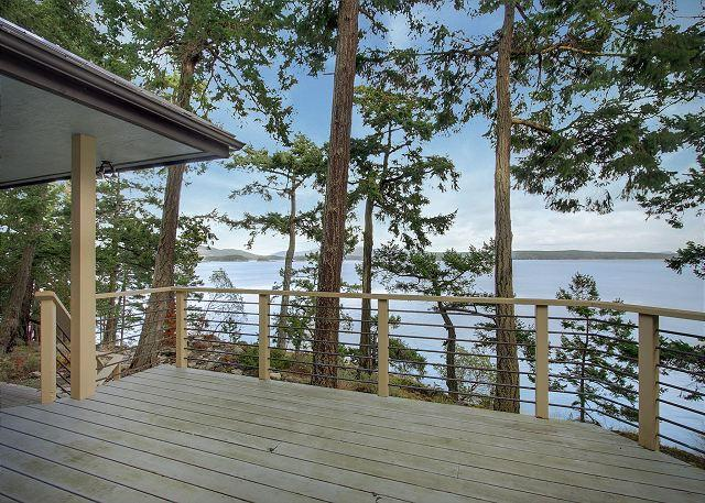 Relax on the deck and take in the views of San Juan Channel - Stonecliff - San Juan Island - rentals