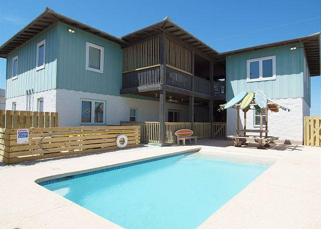 12 bedroom home with Private Pool! - CHECK OUT OUR NEW LOWER RATES !!! - Port Aransas - rentals