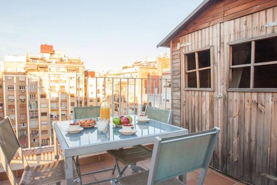 Sunny Terrace *** Cocoon Terrace (BARCELONA) - Image 1 - Barcelona - rentals