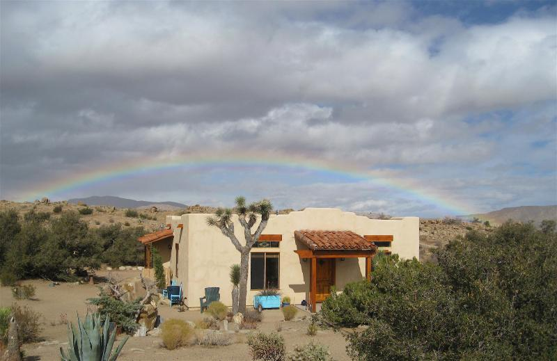 Lots of Rainbows! - High Desert Eden: Pioneertown Wildlife Sanctuary - Joshua Tree - rentals