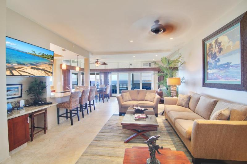 Elegant High End Furnishings and  incomparable ocean views - Complete Luxury Remodel with Stunning Ocean Views! - Kapalua - rentals
