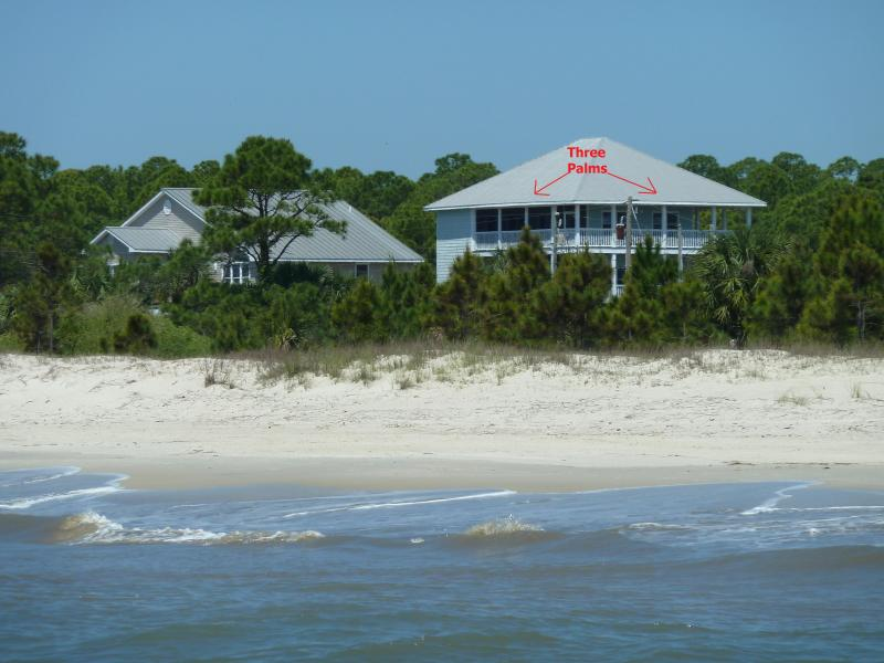 Three Palms From Gulf of Mexico - Three Palms Beach-Front with Pool-Pet Friendly - Port Saint Joe - rentals