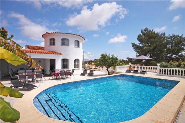 24 bedroom Villa in Calpe, Costa Blanca, Spain : ref 2067215 - Image 1 - Calpe - rentals