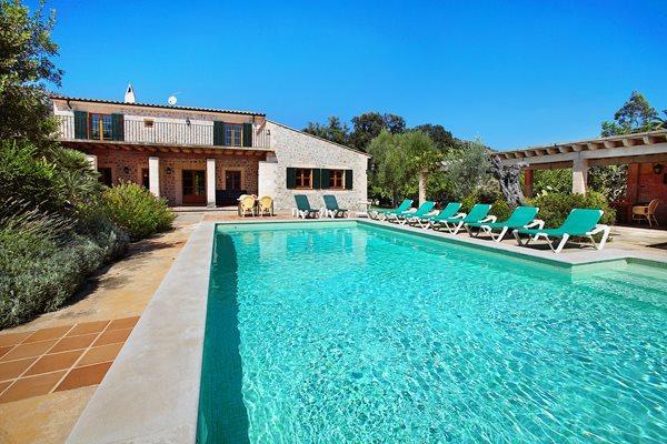 4 bedroom Villa in Pollenca, Mallorca, Mallorca : ref 3254 - Image 1 - Pollenca - rentals