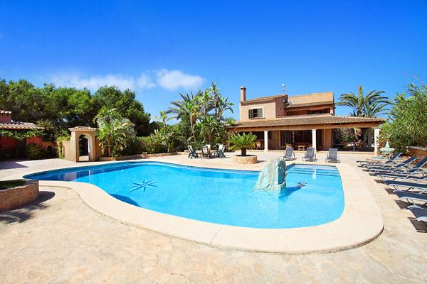 5 bedroom Villa in Cala Dor, Mallorca, Mallorca : ref 2133003 - Image 1 - Cala d'Or - rentals