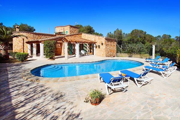 3 bedroom Villa in S Amarador, Santanyi, Mallorca : ref 2105878 - Image 1 - Cala Mondrago - rentals
