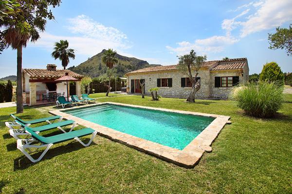 3 bedroom Villa in Pollenca, Mallorca, Mallorca : ref 3260 - Image 1 - Pollenca - rentals