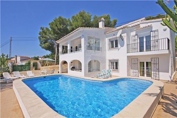 6 bedroom Villa in Moraira, Costa Blanca, Spain : ref 2061539 - Image 1 - Benitachell - rentals