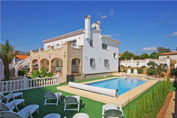7 bedroom Villa in Calpe, Costa Blanca, Spain : ref 2068313 - Image 1 - Calpe - rentals