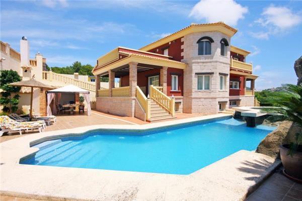 4 bedroom Villa in Calpe, Costa Blanca, Spain : ref 2061413 - Image 1 - Calpe - rentals