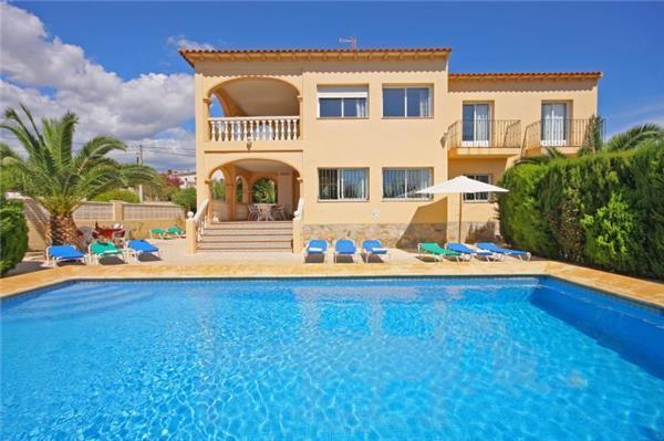 8 bedroom Villa in Calpe, Costa Blanca, Spain : ref 2068165 - Image 1 - Calpe - rentals