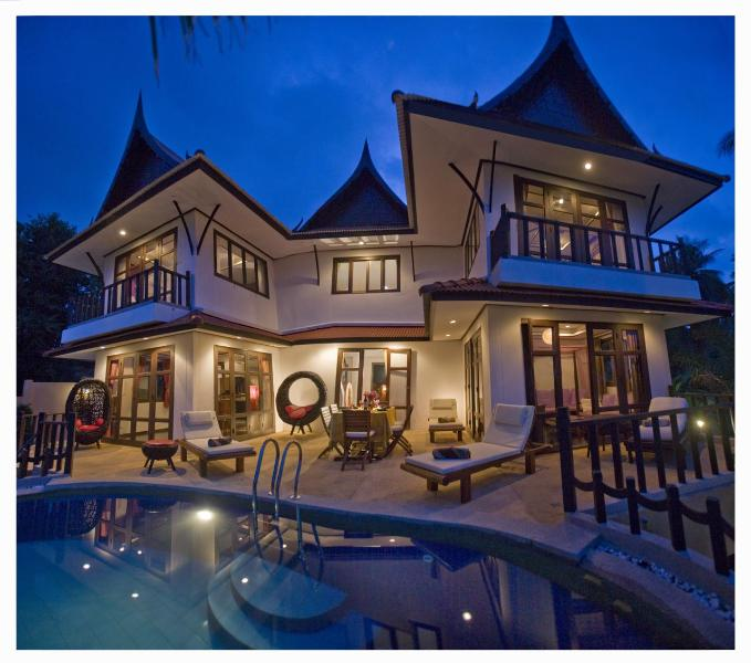 Majestic Villa By Night - Luxurious & Majestic Pool Villa by ChoengMon Beach - Koh Samui - rentals