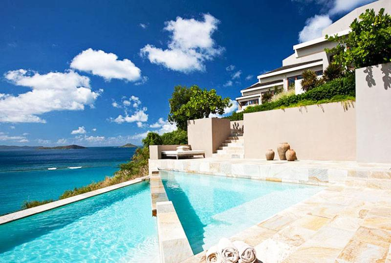 Virgin Gorda Villa 24 On A Bluff Overlooking Pond Bay And Savanna Bay Beaches And Beyond. - Image 1 - Virgin Gorda - rentals