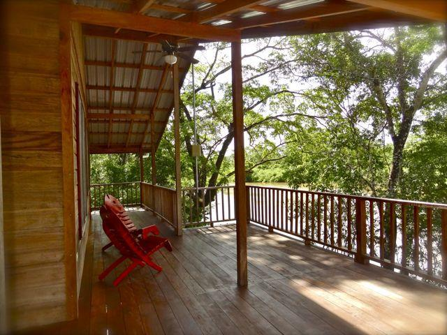 The deck - front row seats to paradise - Romantic  Luxury Tree house Vacation rental - Burrell Boom - rentals