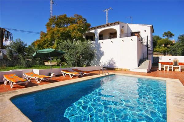 3 bedroom Villa in Benissa, Costa Blanca, Spain : ref 2067269 - Image 1 - La Llobella - rentals
