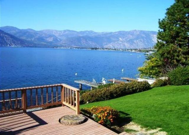 Northshore Lake Chelan Waterfront Retreat w/Private Dock & Pet Friendly - Image 1 - Manson - rentals