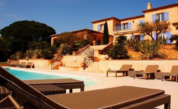 Ramatuelle 5 Bedroom Holiday Home with a Pool, Saint Tropez - Image 1 - Ramatuelle - rentals