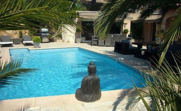 Fantastic 4 Bedroom Gassin House with a Pool - Image 1 - Gassin - rentals