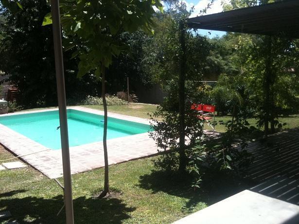 Garden & Pool....plants and trees - Beautiful house Lake area :: Village near Cba.City - Villa Carlos Paz - rentals