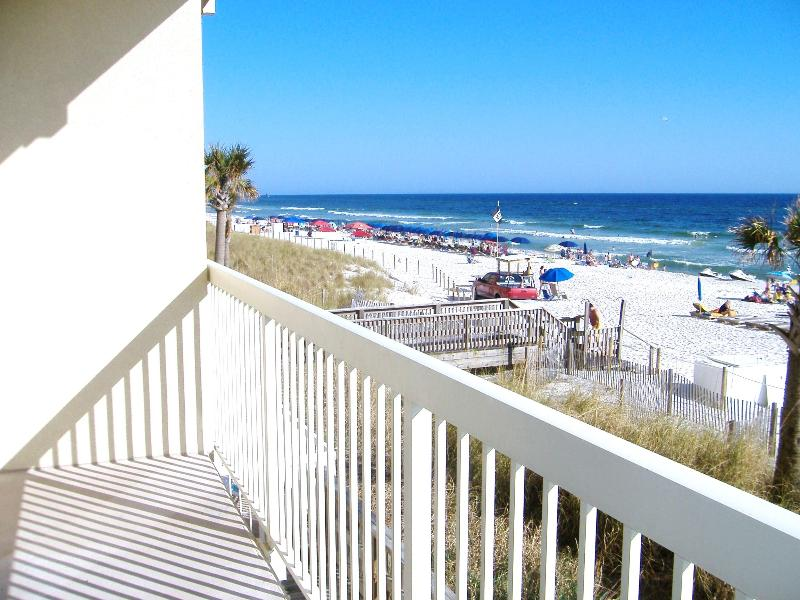 East View from Balcony - Waterfront. Sleeps 6.  Great View! Low Floor. - Panama City Beach - rentals