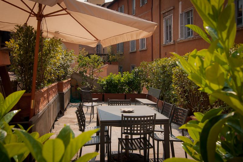 Terrace - Rome Accommodation Campo Marzio - Rome - rentals