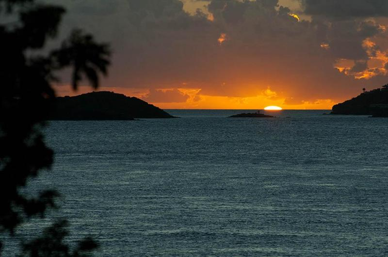 sunset - Gallows Point   - 2D Oceanfront and Sunsets - Cruz Bay - rentals