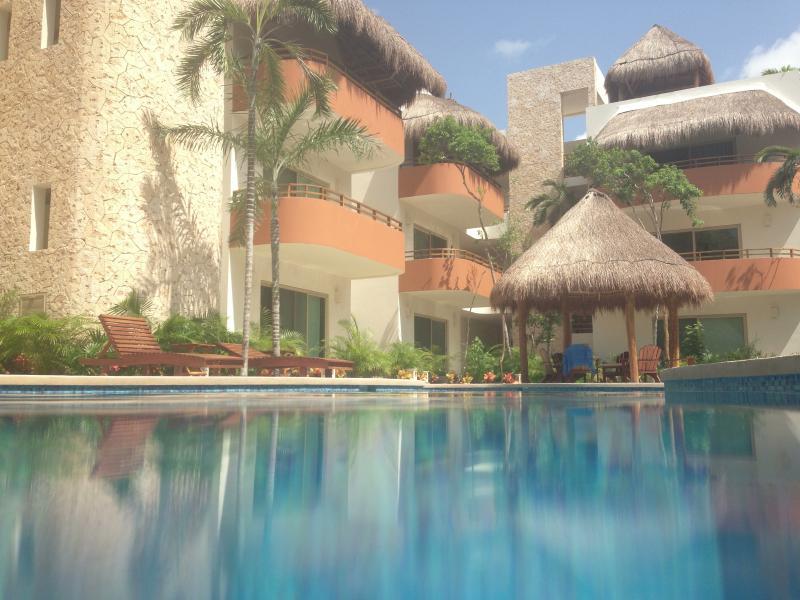 Aldea Zama Condo Rental in Tulum Ground Floor Pool View - Image 1 - Tulum - rentals