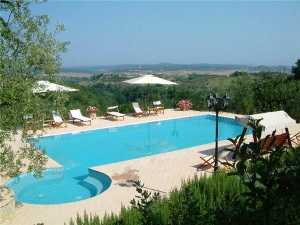 5 bedroom Villa in Gambassi Terme, Tuscany, San Gimignano, Italy : ref 2100569 - Image 1 - Monterappoli - rentals