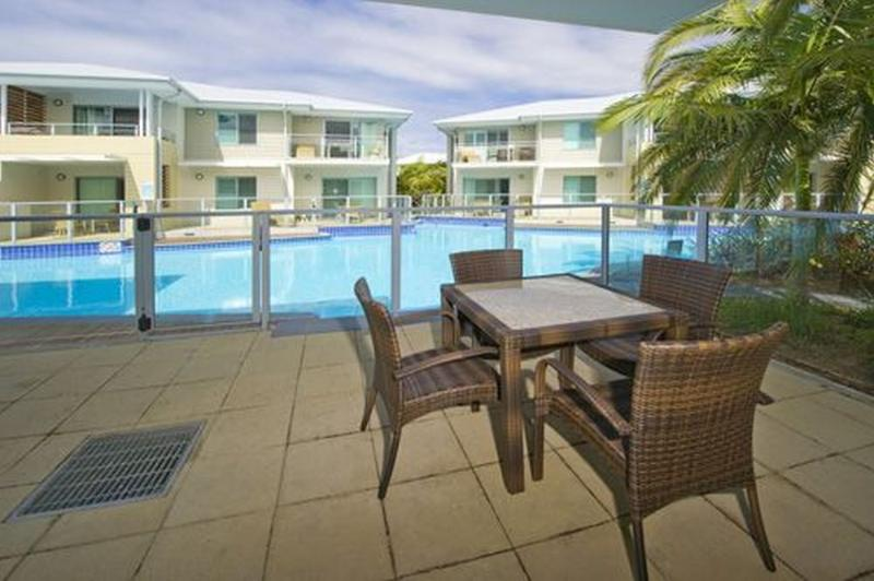 Balcony - Pacific Blue Resort 129 - Salamander Bay - rentals