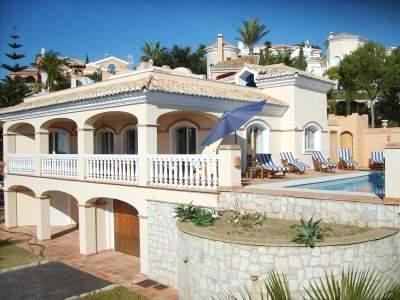 4 bedroom Villa in Mijas, Costa del Sol, Fuengirola, Spain : ref 2063104 - Image 1 - Sitio de Calahonda - rentals