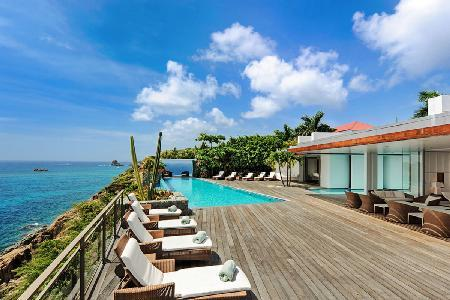 Wonderful Villa Wickie made of 2 buildings for extra privacy with pool & sunny terrace - Image 1 - Gustavia - rentals
