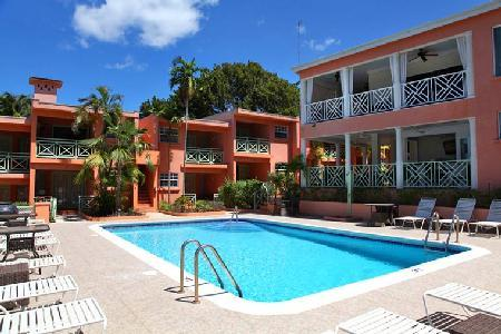Exquisitely furnished The Palms Penthouse with spacious balcony overlooking pool & garden - Image 1 - Saint James - rentals