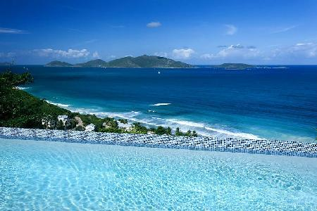Alfresco - Comfortable villa, great location, infinity pool & panoramic ocean views - Image 1 - Long Bay - rentals