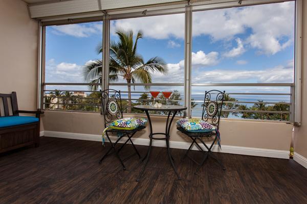 Panoramic oceanvw on a large lanoia ( balcony) - Kamaole Beach Royale Resort- Panaoramic Ocean View - Kihei - rentals