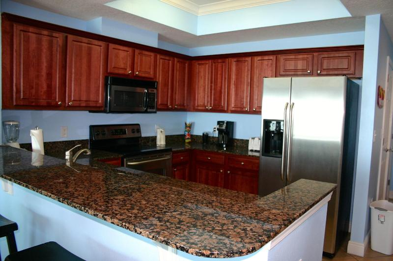Fully stocked Kitchen. I love to cook. - Crystal Shores West 103, CLEAN, Beach Front - Gulf Shores - rentals
