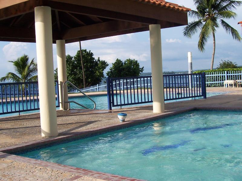 Pool sits next to the beach - Haciendas del Club Golf & Playa IV307 - Cabo Rojo - rentals