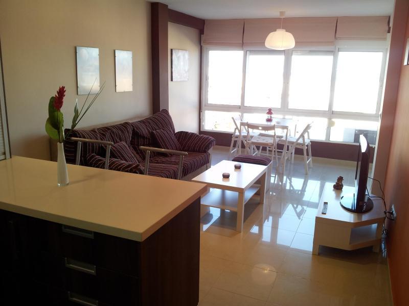 cocina-comedor - Bonito Apartamento De Playa Con Increibles Vistas! - Malaga - rentals