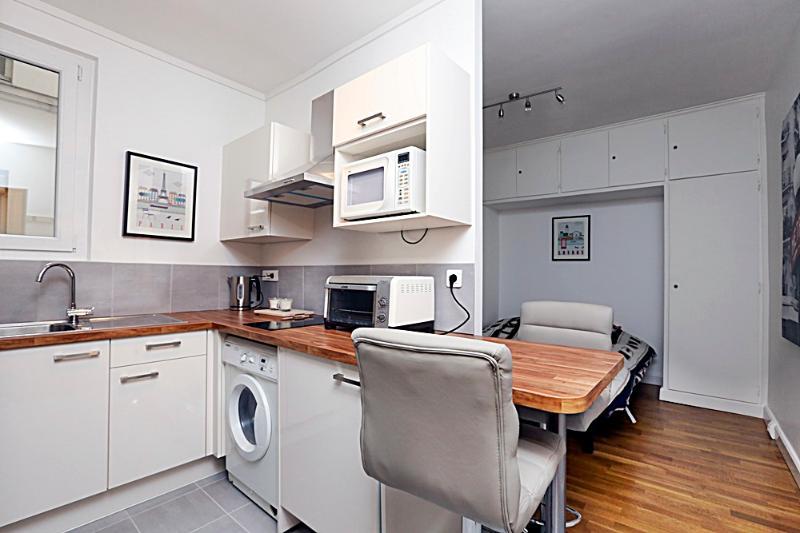 Main room - Brand new studio Montparnasse P14 - Paris - rentals
