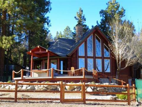 #080 Moonshadows Log Cabin - Image 1 - Big Bear Lake - rentals